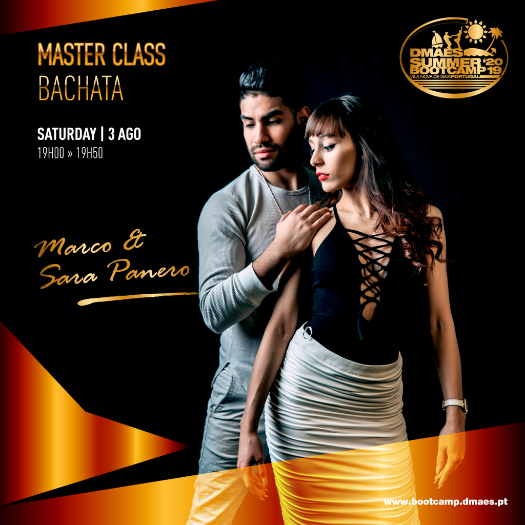 MASTER CLASSES @ DMAES SUMMER BOOTCAMP 2019 - ONLY at Door