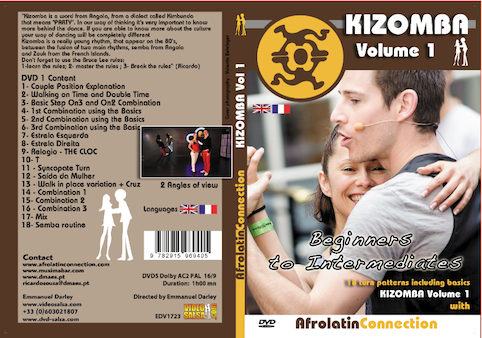 DVD - How to Dance KIZOMBA - Beginners to Intermediates - VOLUME 1