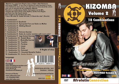DVD - How to Dance KIZOMBA - Intermediates - VOLUME 2