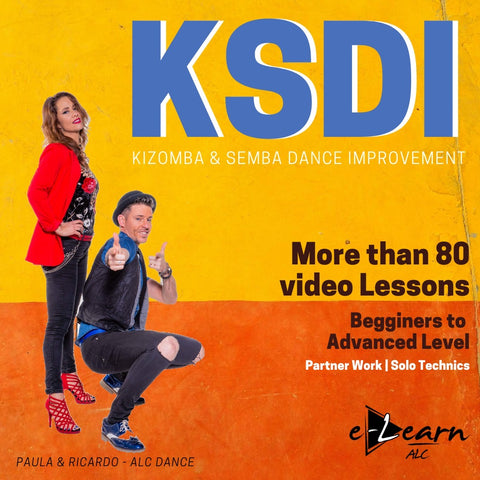 Paula and Ricardo from ALC Dance Studios (Afrolatin Connection) More than 80 video lessons from beginner to advanced level of Kizomba & Semba Technics for couple dance and for individual improvement as a leader and as a follower.