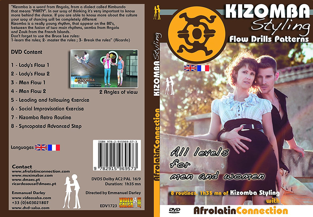 DVD - How to Kizomba Styling - Men and Women - All Levels