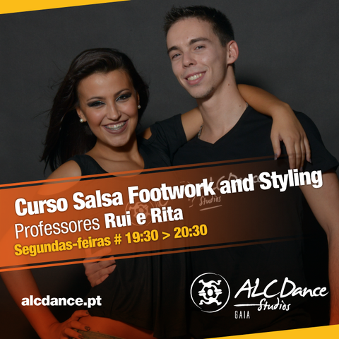 Curso Salsa Footwork and Styling