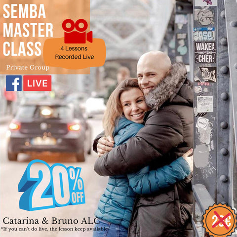 Semba Master Class com Bruno e Catarina da ALC Dance Studios (Afrolatin Connection)