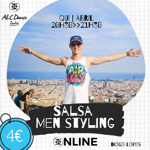 Salsa Men Styling | Diogo Lopes | Quinta 09 Abril às 20h30
