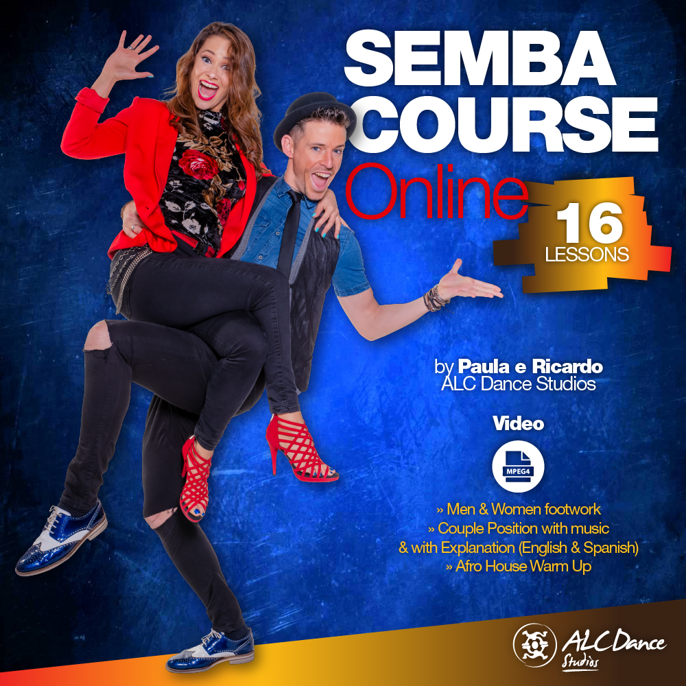 👣 SEMBA COURSE (ONLINE) by ALC Dance Studios Level 1 & 2