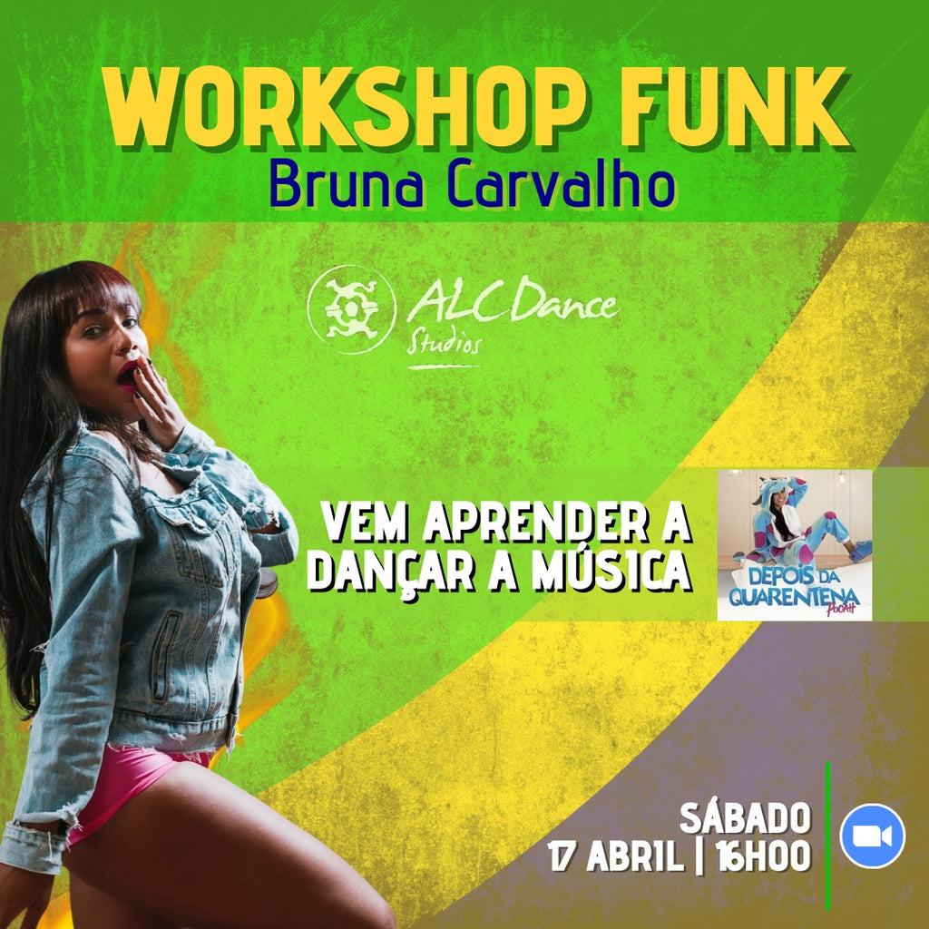 WORKSHOP de FUNK Online - Sábado 17 Abril