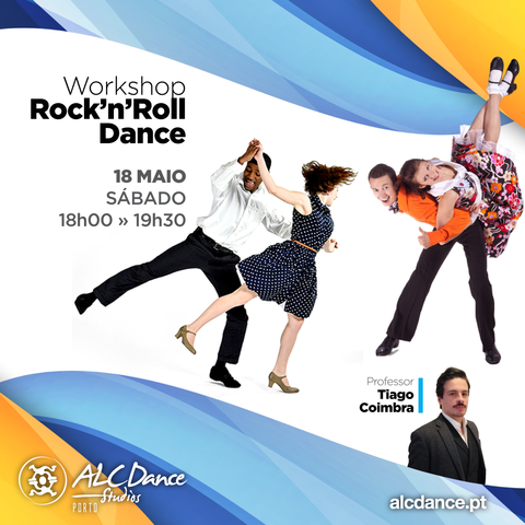 WORKSHOP Rock'n'Roll Dance com Tiago Coimbra | 18 Maio - ALC PORTO