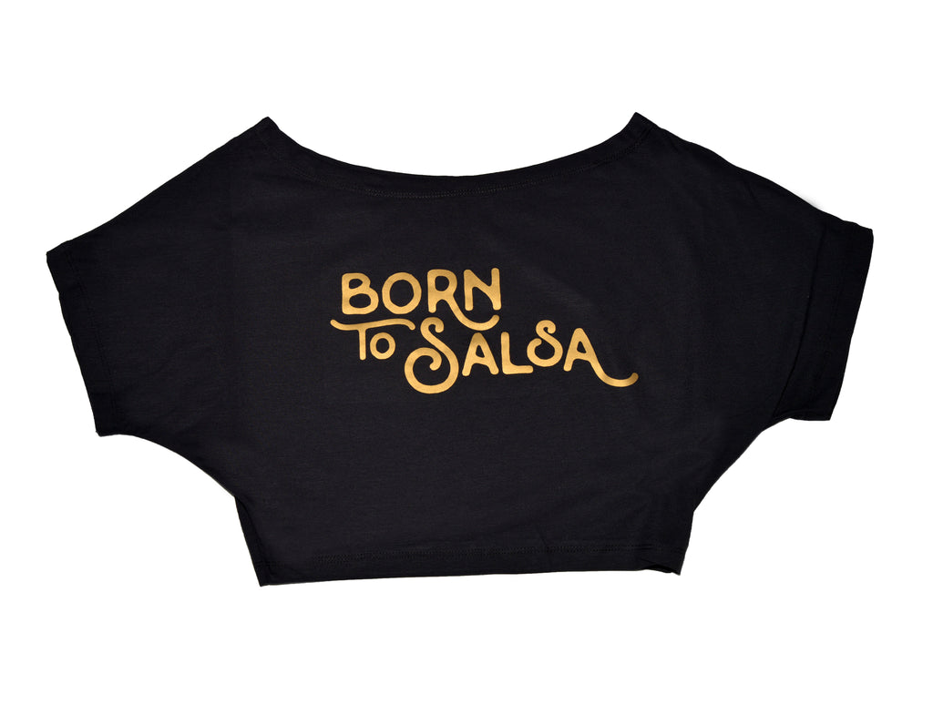 "T-Shirt ""Born To Salsa"" - Mulher --- Woman - T-Shirt ""Born To Salsa"""