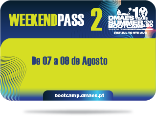 DMAES SUMMER BOOTCAMP 2020 - WEEKEND PASS 2