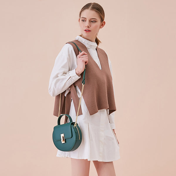 Round Shape Crossbody Bag - AARB Store