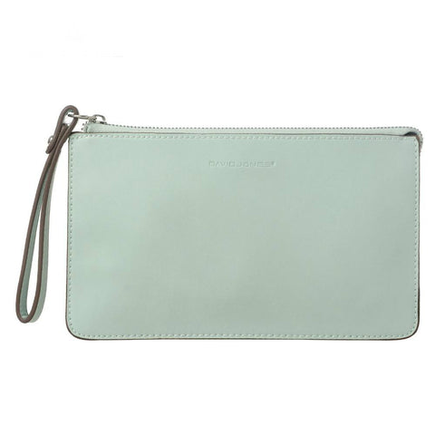 Leather Zipper Clutch - AARB Store