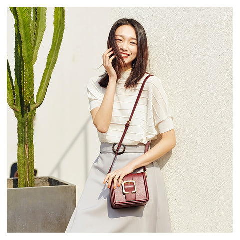 Belted Crossbody Bag - AARB Store