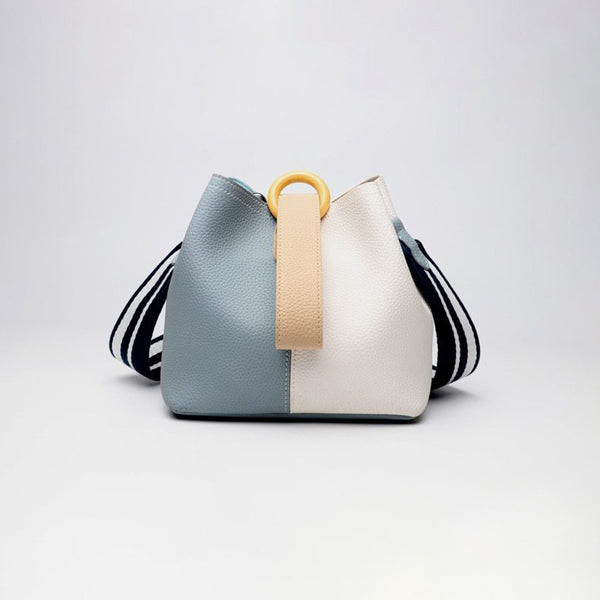 Panelled Bucket Bag