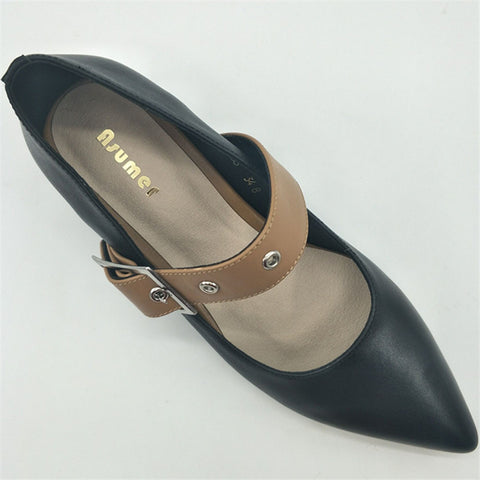 Retro Pointed Shoes - AARB Store