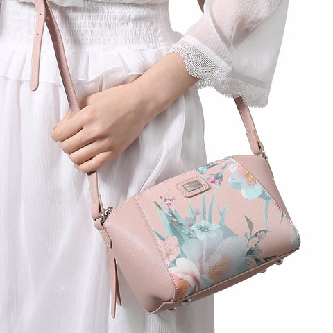 Embroidery Crossbody Bag