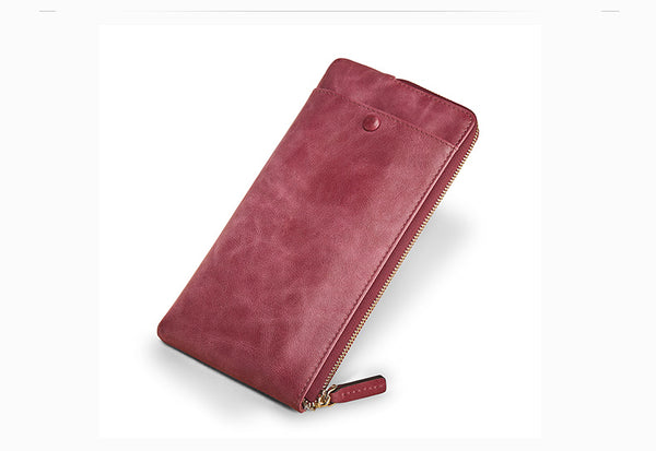 Long Leather Wallet - AARB Store