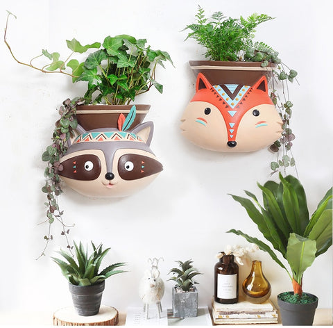 Animal Wall-Desktop Planter
