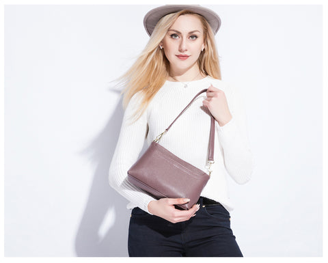 Leather Crossbody Bag - AARB Store