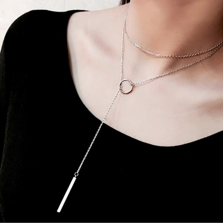 Circle Chain Necklace - AARB Store