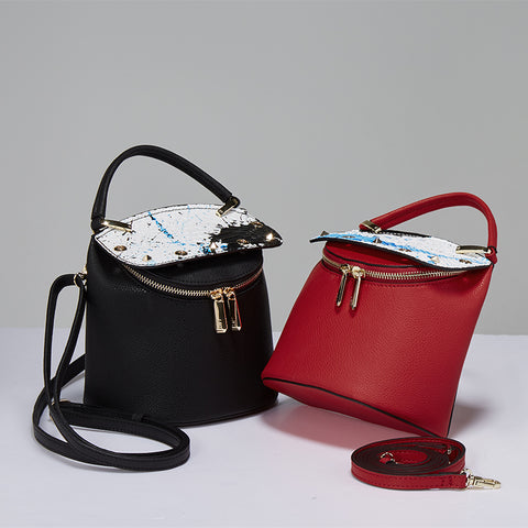 Bucket Leather Handbag