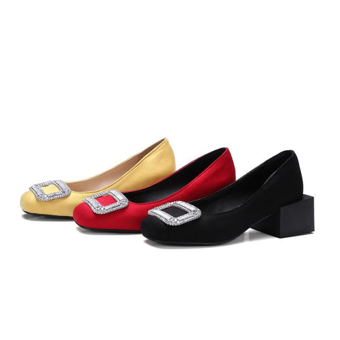 Square Heel Shoes - AARB Store