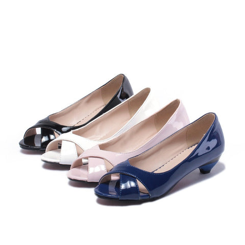 Peep Toe Shoes - AARB Store