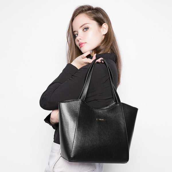 Zipper Composite Handbag