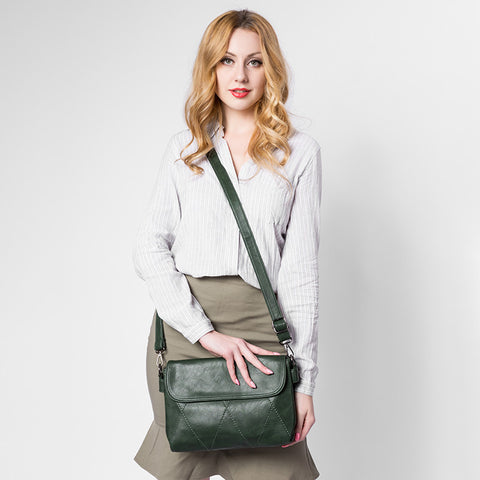 Flap Diamond Handbag - AARB Store