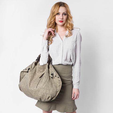 Linen Casual Tote Bag - AARB Store