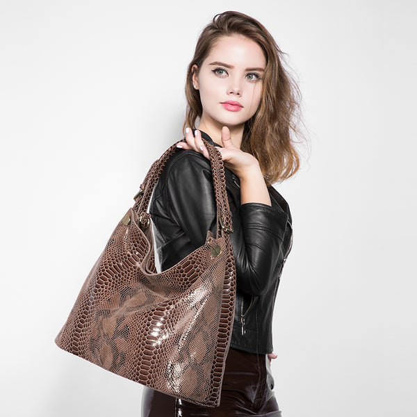 Large Serpentine Hobo Bag - AARB Store