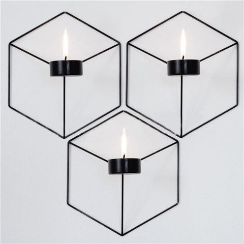 3D Geometric Candlestick - AARB Store