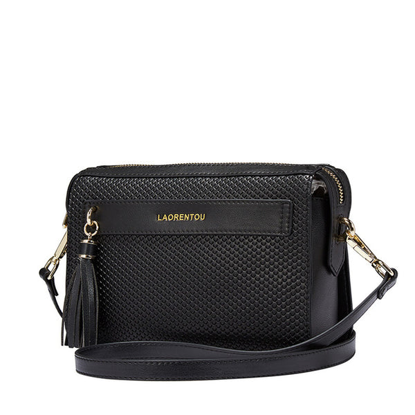 Flap Leather Crossbody Bag - AARB Store