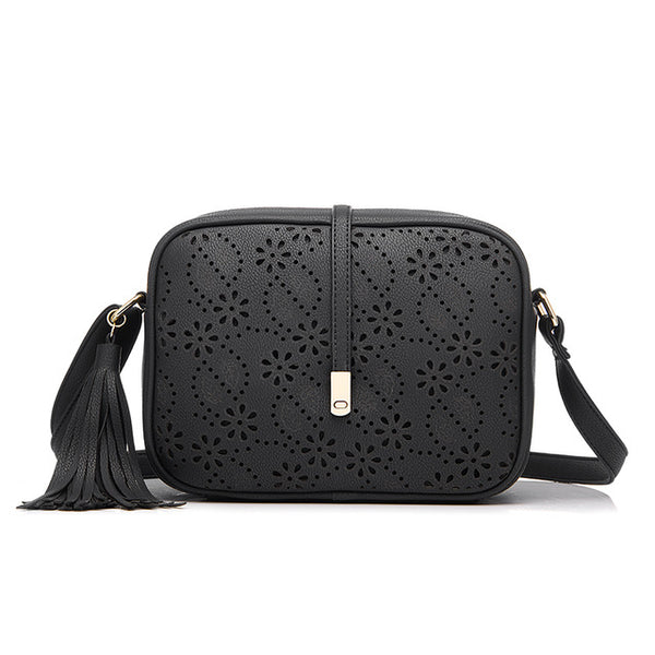 Floral Hollow Crossbody Bag - AARB Store