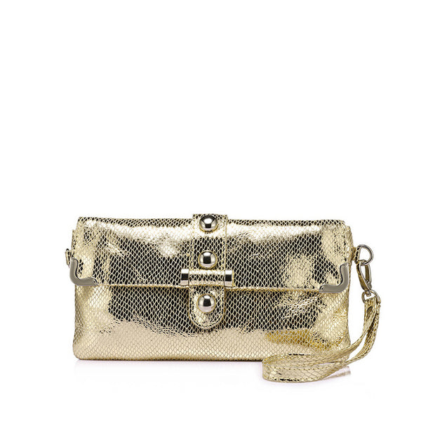 Evening Leather Clutch