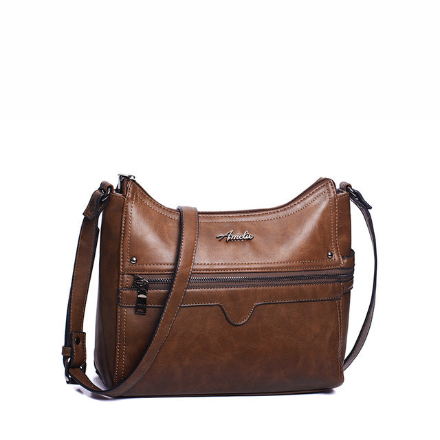 Multi-Pocket Shoulder Bag - AARB Store
