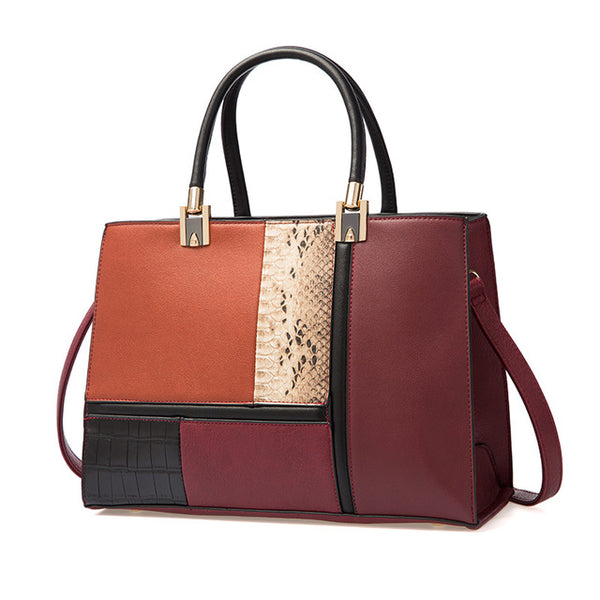 Boston Stitching Handbag - AARB Store
