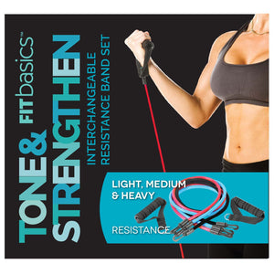Fitbasics Interchangeable Band Set