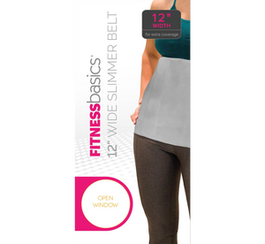 "Fitbasics 12"" Womens Slimmer Belt"