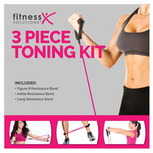 Load image into Gallery viewer, FitnessSolutions 3-Piece Band Set