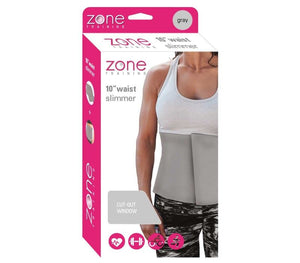 "Zone Training 10"" Slimmer Belt GRAY"