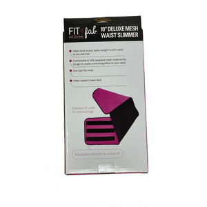 "Fit & Fab 10"" Mesh Slimmer Belt"