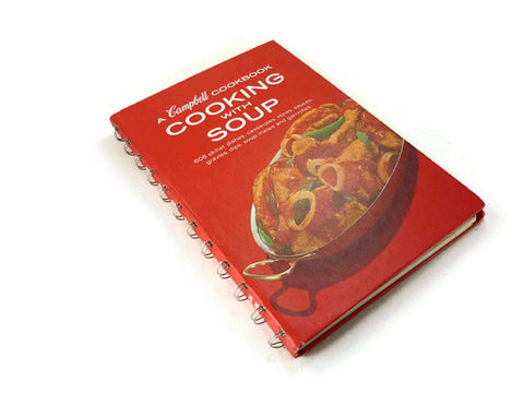 Vintage Campbell Cooking with Soup Cookbook