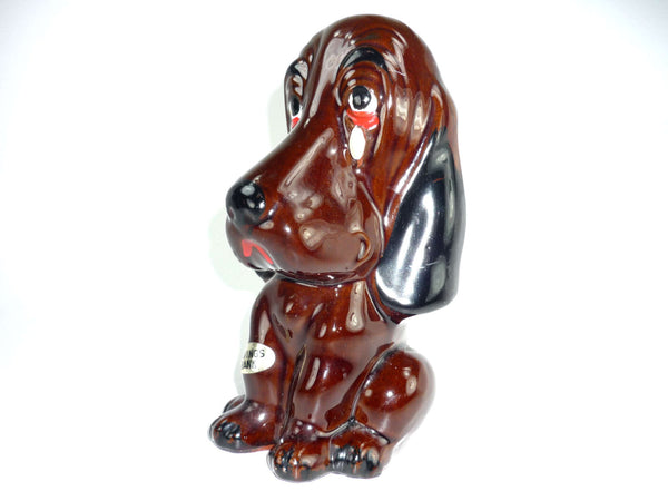 Vintage Enesco Sad Dog Bank