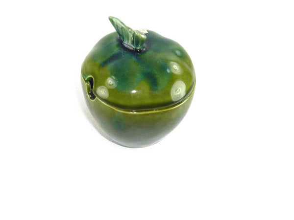 Vintage Enesco Apple Condiment Server