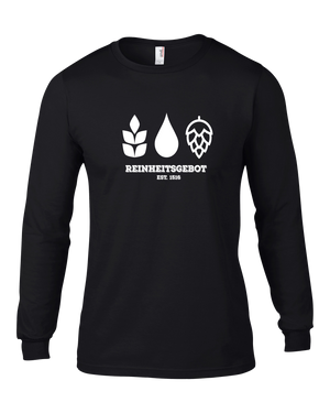 German Purity Law Long Sleeve T-Shirt - Brew Pup  - 2