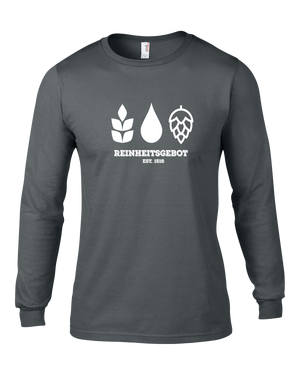 German Purity Law Long Sleeve T-Shirt - Brew Pup  - 3