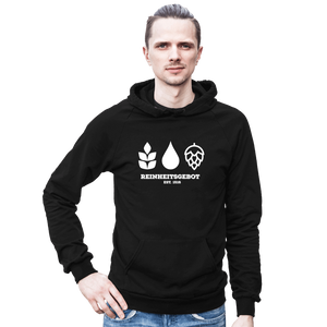 German Purity Law Hooded Sweatshirt - Brew Pup  - 1