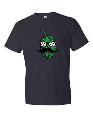 The Hop-Stache Hop T-Shirt - Unisex - Brew Pup  - 7