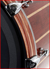 Stellar! Wood Bass Drum Hoops