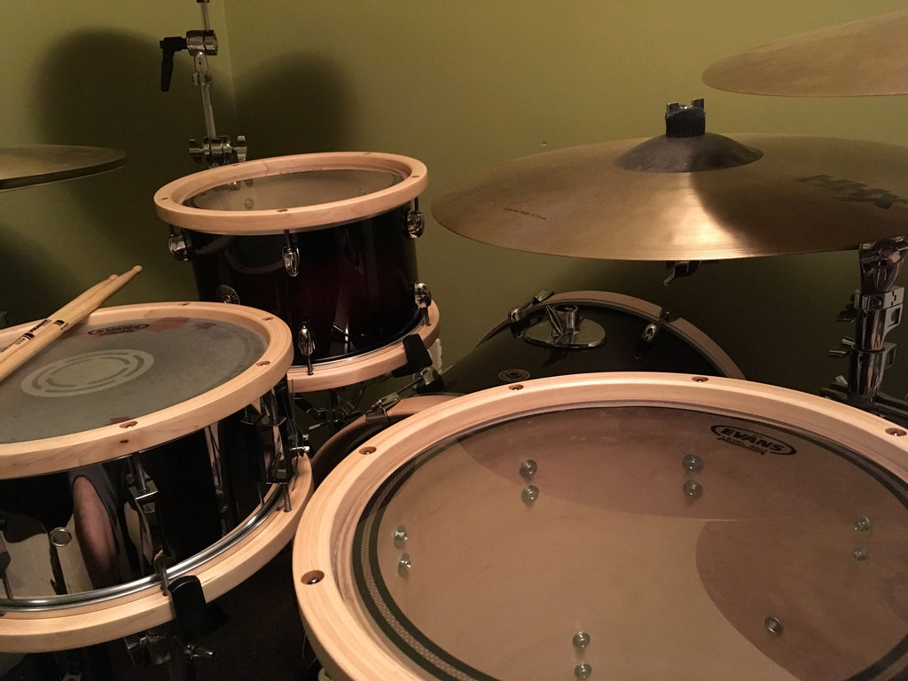 Stellar! Vintage SPV Maple Tom Hoops (pair)